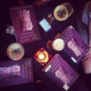 Chick Lit (Melbourne-based feminist book club) met to discuss 'The Great Feminist Denial' by Zora Simic and Monica Dux.
