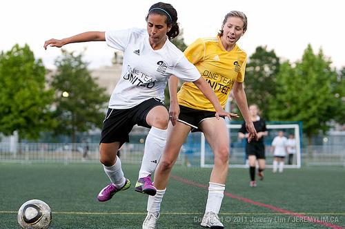 Photo by Jeremy Lim - Vancouver International Soccer Festival (Women's Finals)